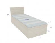 Кровать из дсп односпальная усиленная